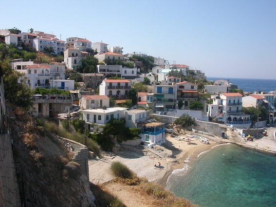 イカリア島 風景
