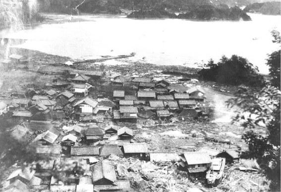南海地震 写真