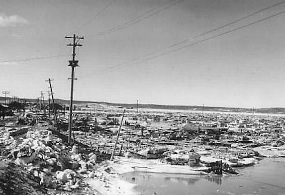 52年 十勝沖地震の津波