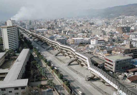 阪神淡路大震災 写真