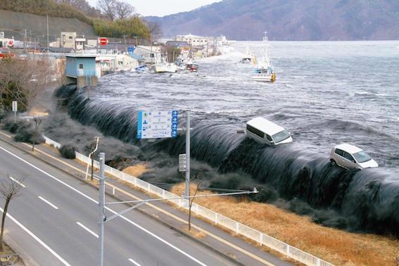 東日本大震災の津波