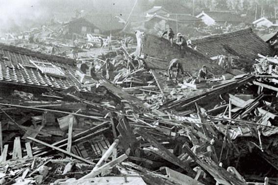 東南海地震 写真