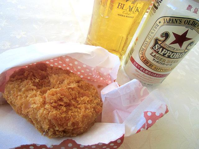 ファミコロとビール