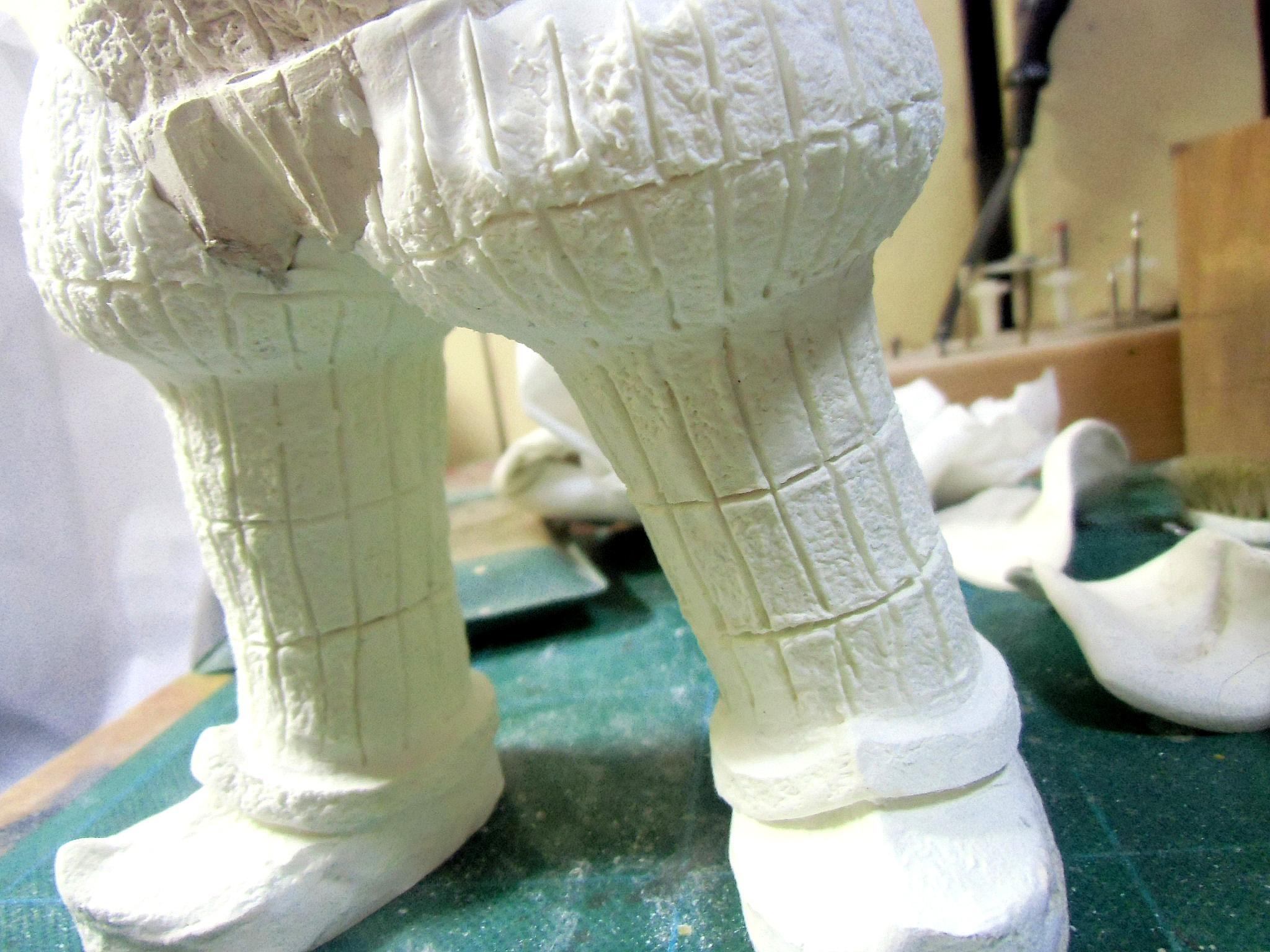腿立ちの成型