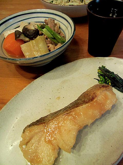 鱈のたれ焼き