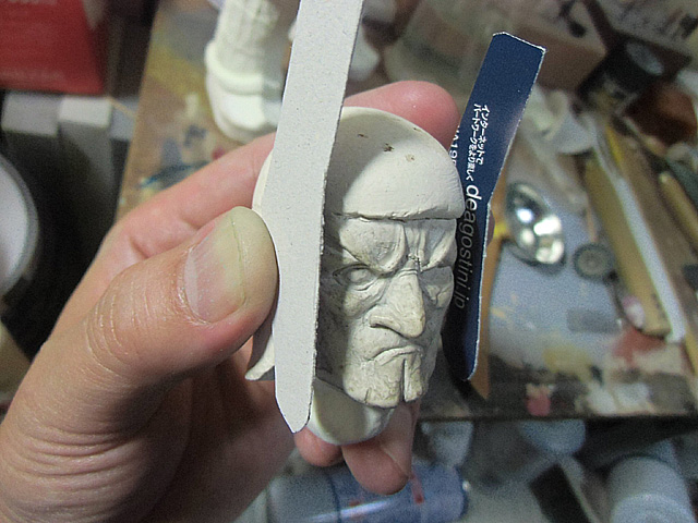 1-厚紙で型を作る