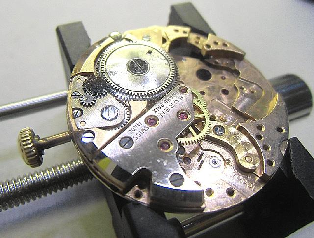 19-時計系の組み立て