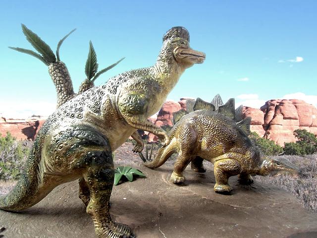ステゴザウルスといっしょに