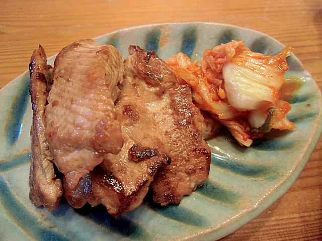 鮫の生姜焼き