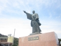 岩崎弥太郎先生の像