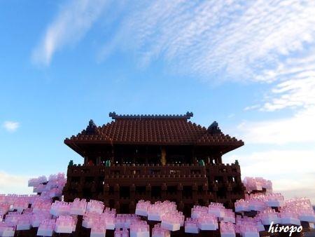 桜の中のnano清水寺C450