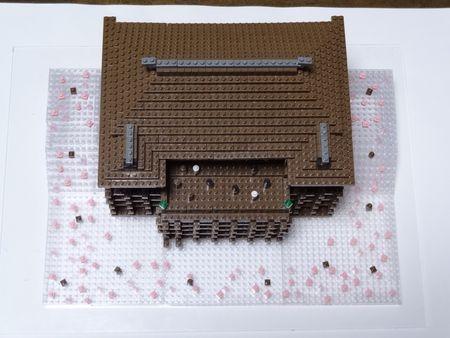 桜の清水寺分解後