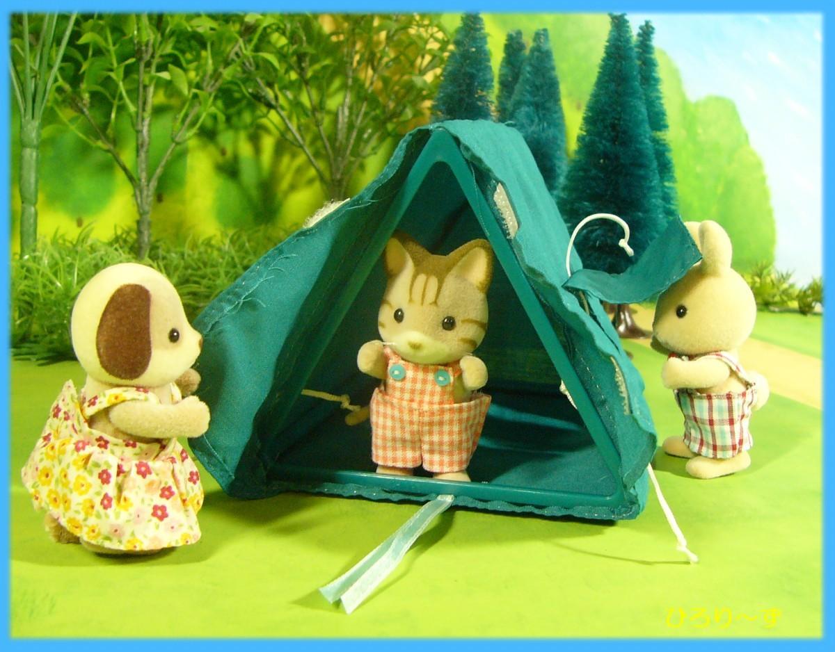 くらべっこ テント 8