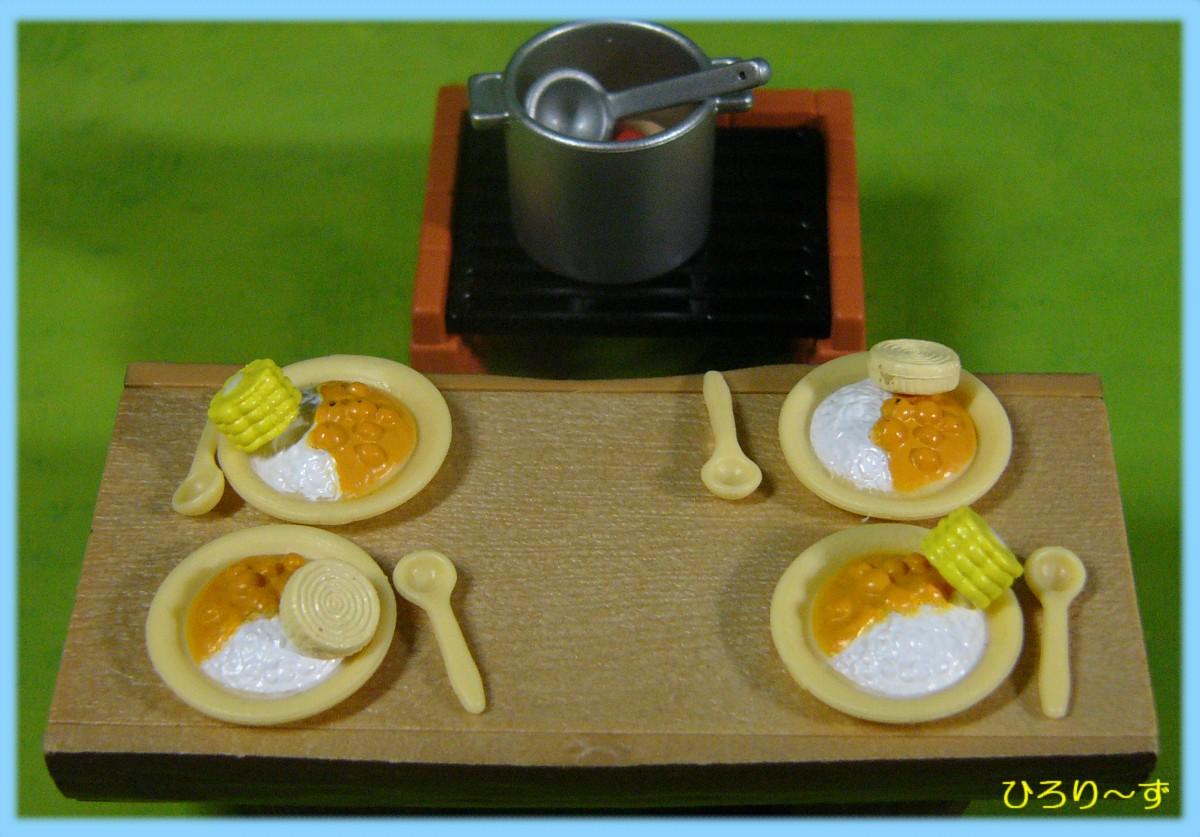 くらべっこ♪ バーベキューセット食材 4