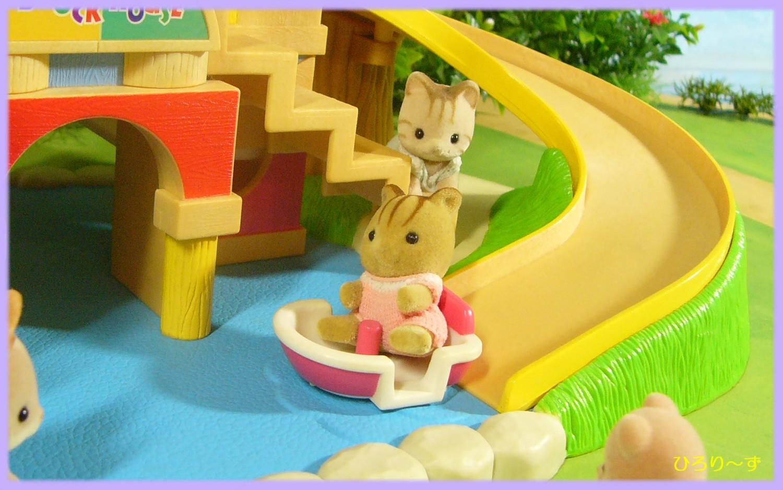 赤ちゃん広場のお池であそぼ 7