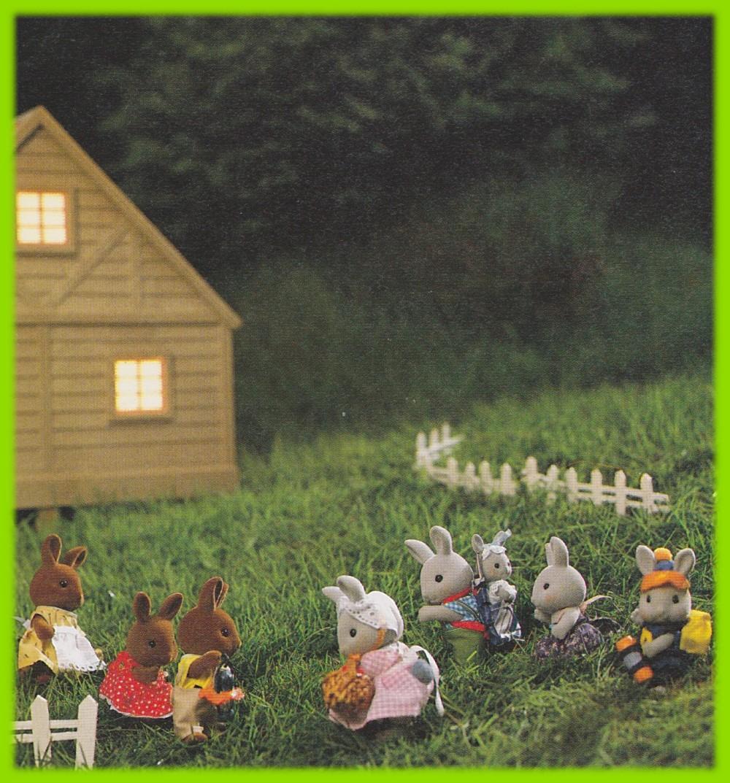 ウサギさんのハイキング 2