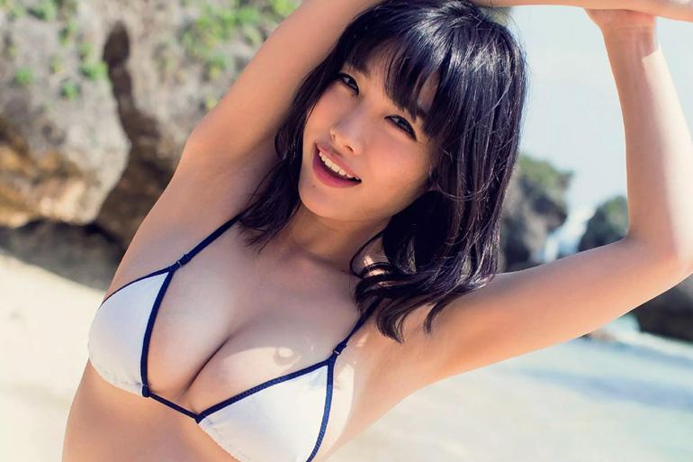 今野杏南 甘〜くて白くて丸い!白桃乳グラビア画像50枚