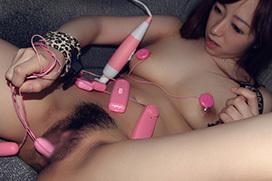 玩具好きえっちなお姉さんのハメ撮りセックス