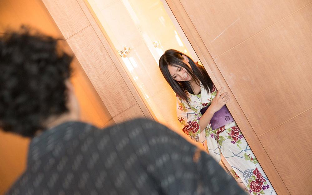 平塚麻衣 浴衣 セックス画像 1