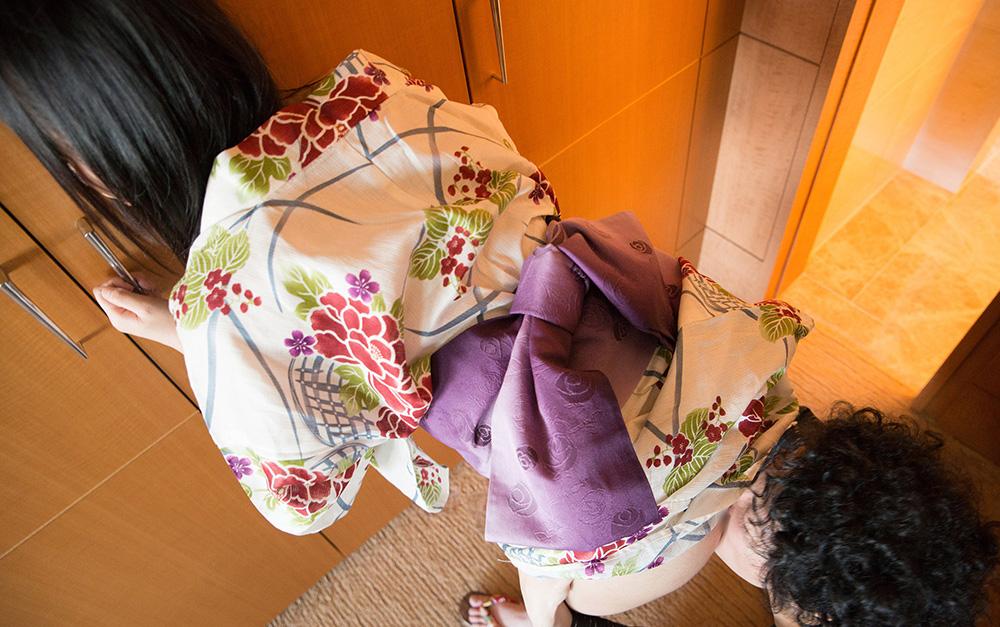 平塚麻衣 浴衣 セックス画像 15