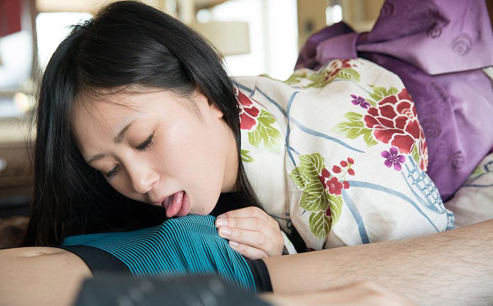 平塚麻衣 浴衣 セックス画像 26