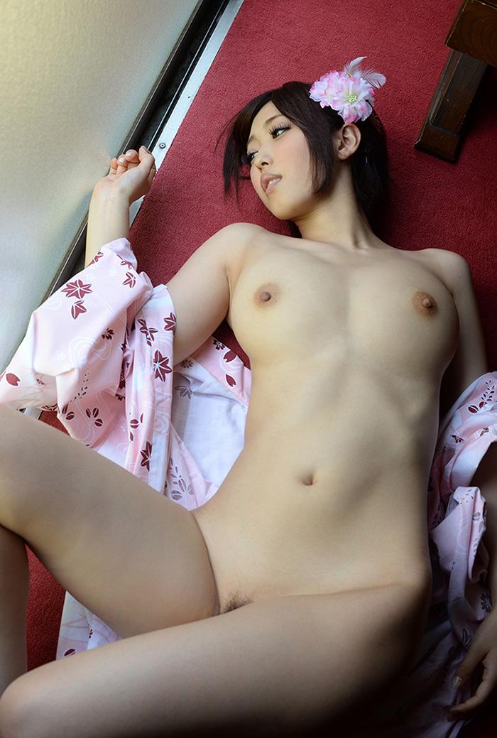 浴衣 ヌード 画像 50