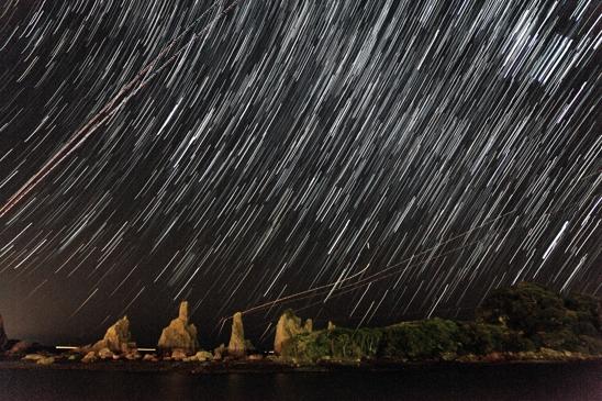 あ橋杭の星