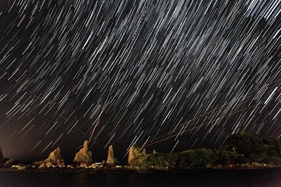 い橋杭の星