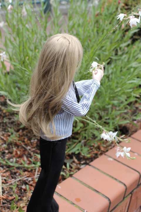 ナツメのお花とのファーストコンタクト。