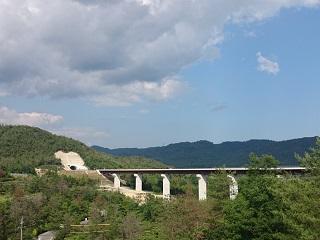 黒瀬ダムより東広島呉道路
