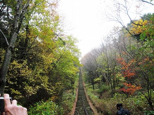 二上山ふるさと公園の456段石段