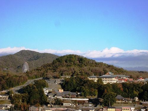 国宝犬山城から見る