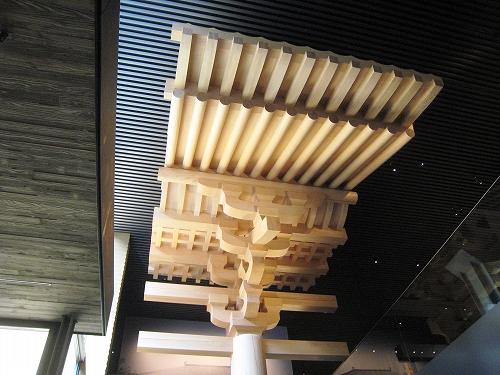 唐招提寺金堂組物の実物大模型