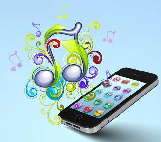 音楽、携帯