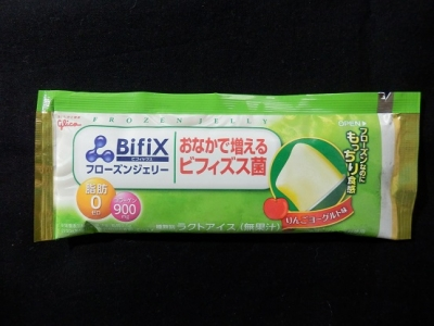 BifiXフローズンジェリーりんごヨーグルト味