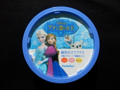 アナ雪練乳仕立てアイス