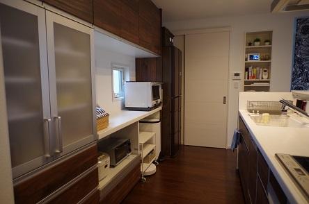 キッチン全体像入居後