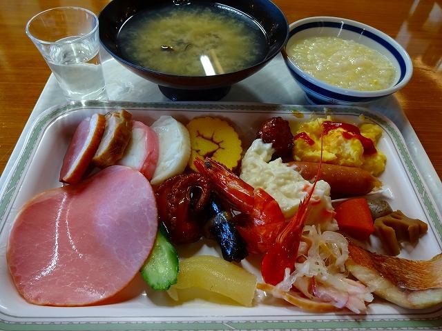 いこいの村涸沼朝食バイキング (1)