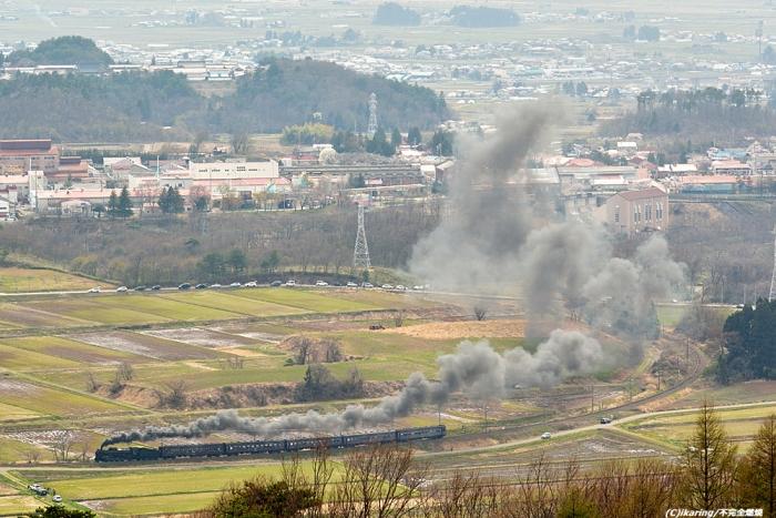 磐越西線 D51