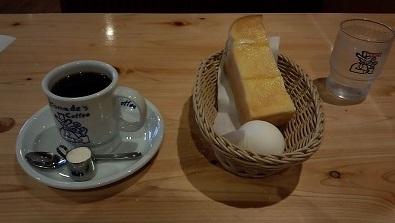コーヒー420円 モーニング コメダ20150624