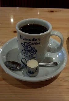 コーヒー420円コメダ珈琲20150624