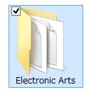 Electronic Artsフォルダ