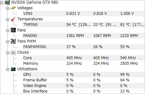 GTA5_GTX 980_温度