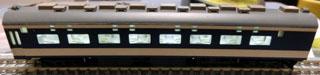 グランライトを取り付けたTOMIX583系中間車