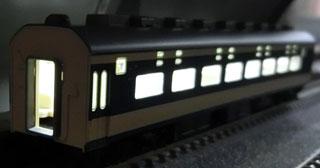 「トンネル内の駅」を使っての点灯確認