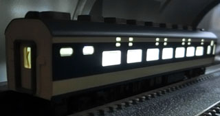 「トンネル内の駅」を使っての点灯確認②