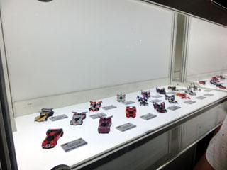 展示されていたサイバーフォーミュラコレクション