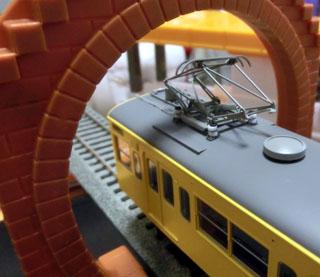 トーマスシリーズ用トンネルをHOゲージで検証②