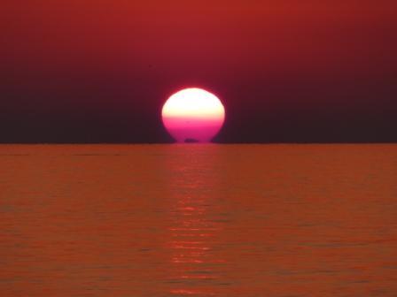 塩屋海岸 夕景 4