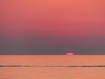 塩屋海岸 夕景 9